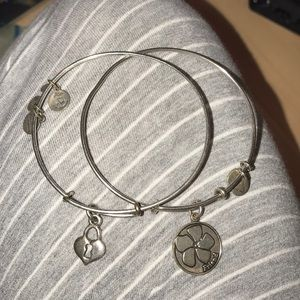 Alex and Ani - friend & lock